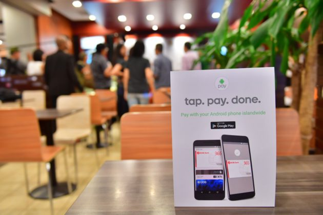 Android Pay Mcdonald