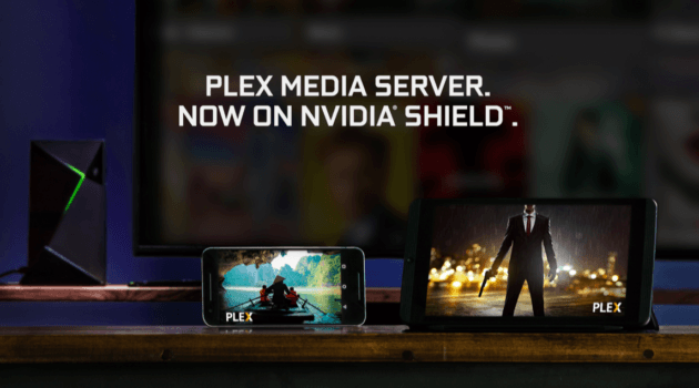 Android Shield TV Media Server
