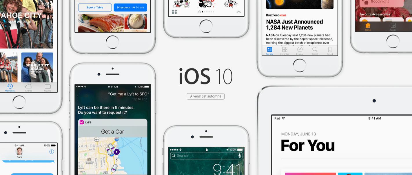 Face à face   les 10 nouveautés d iOS 10 comparées à Android - FrAndroid c5259dae2d59