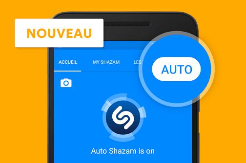 Le Shazam automatique est de sortie   comment ça marche   - FrAndroid 34a1d4fe5e95