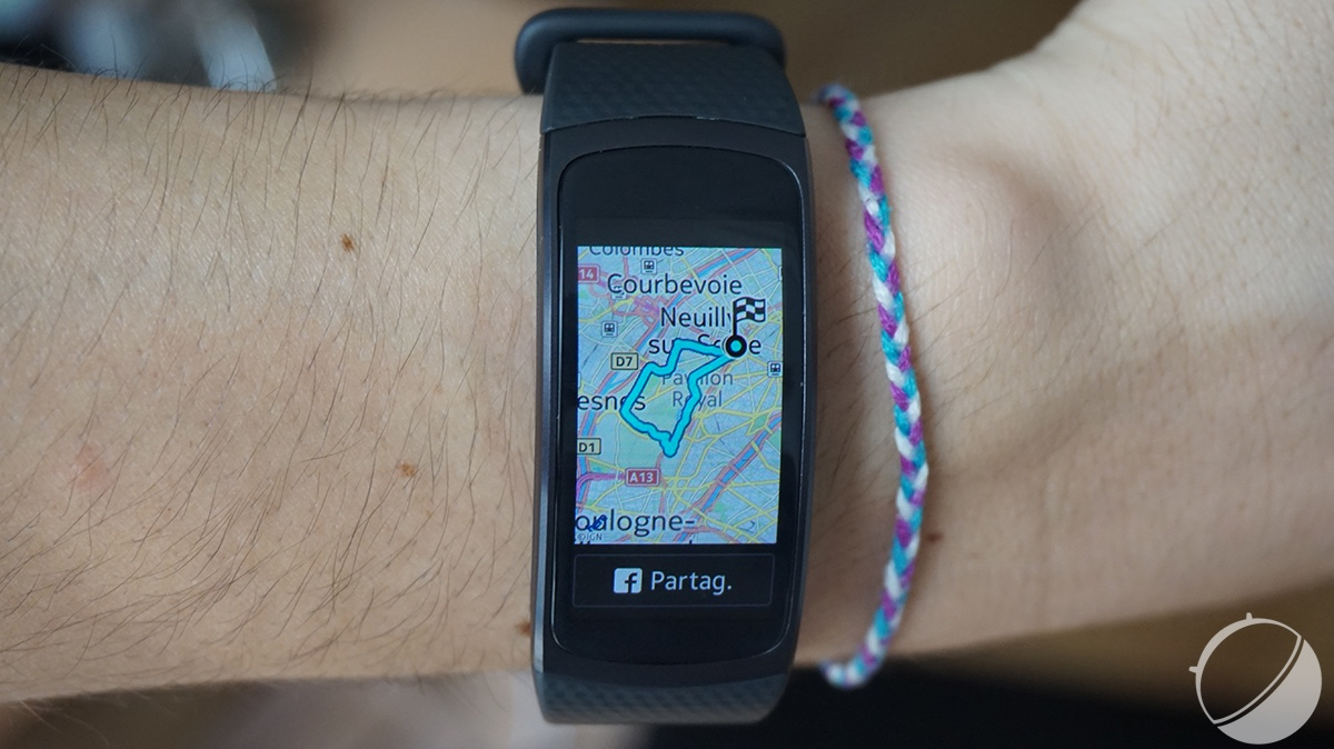 Test Samsung Gear Fit 2 : notre avis complet