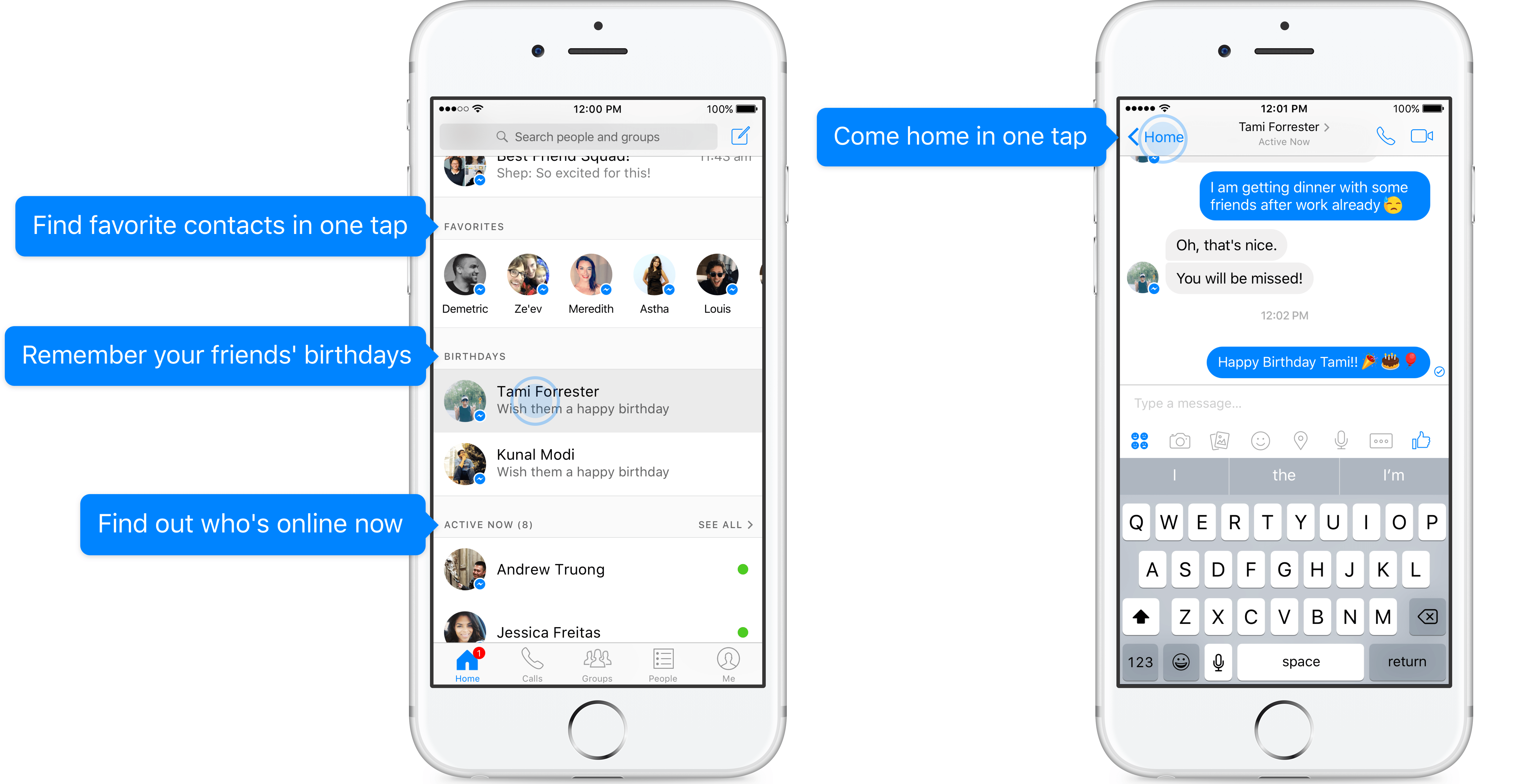 Facebook Messenger veut devenir vraiment plus pratique ...