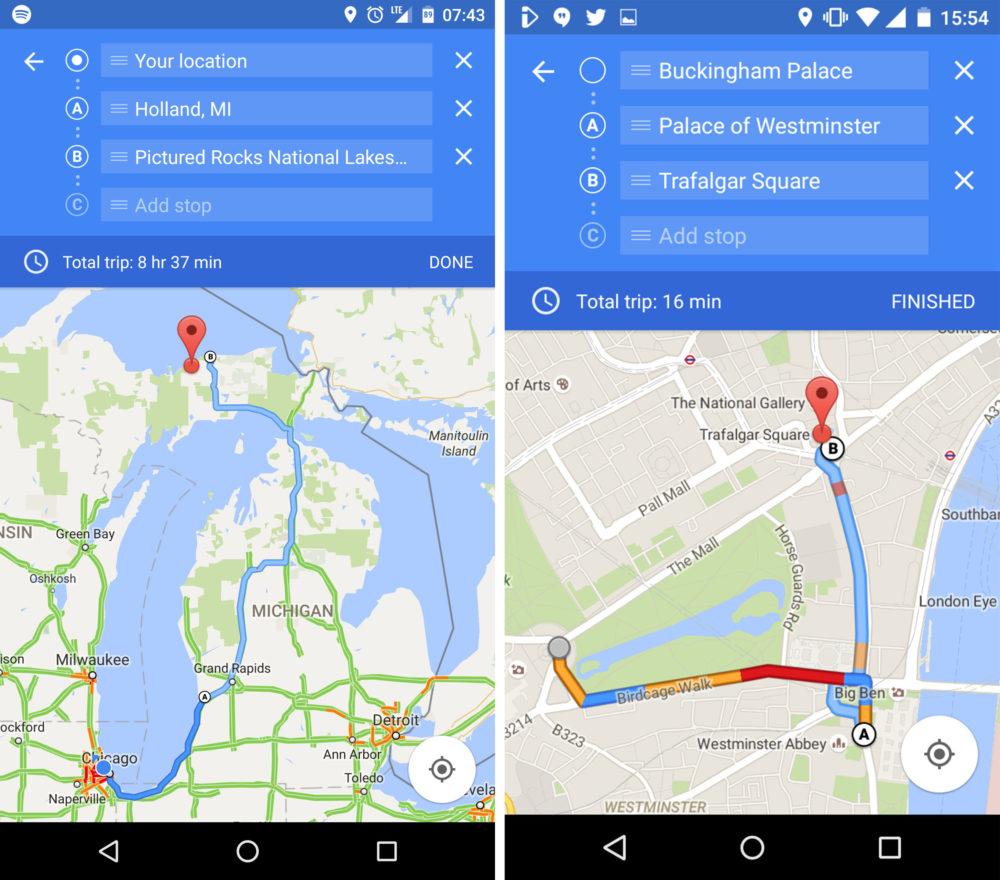 google-maps-etapes-itineraires