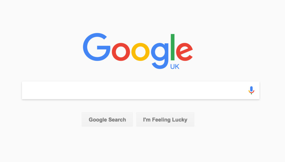 google nouveau design