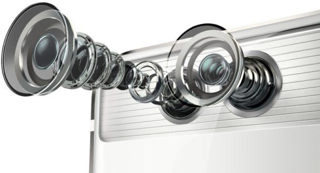 Huawei P9 double capteur