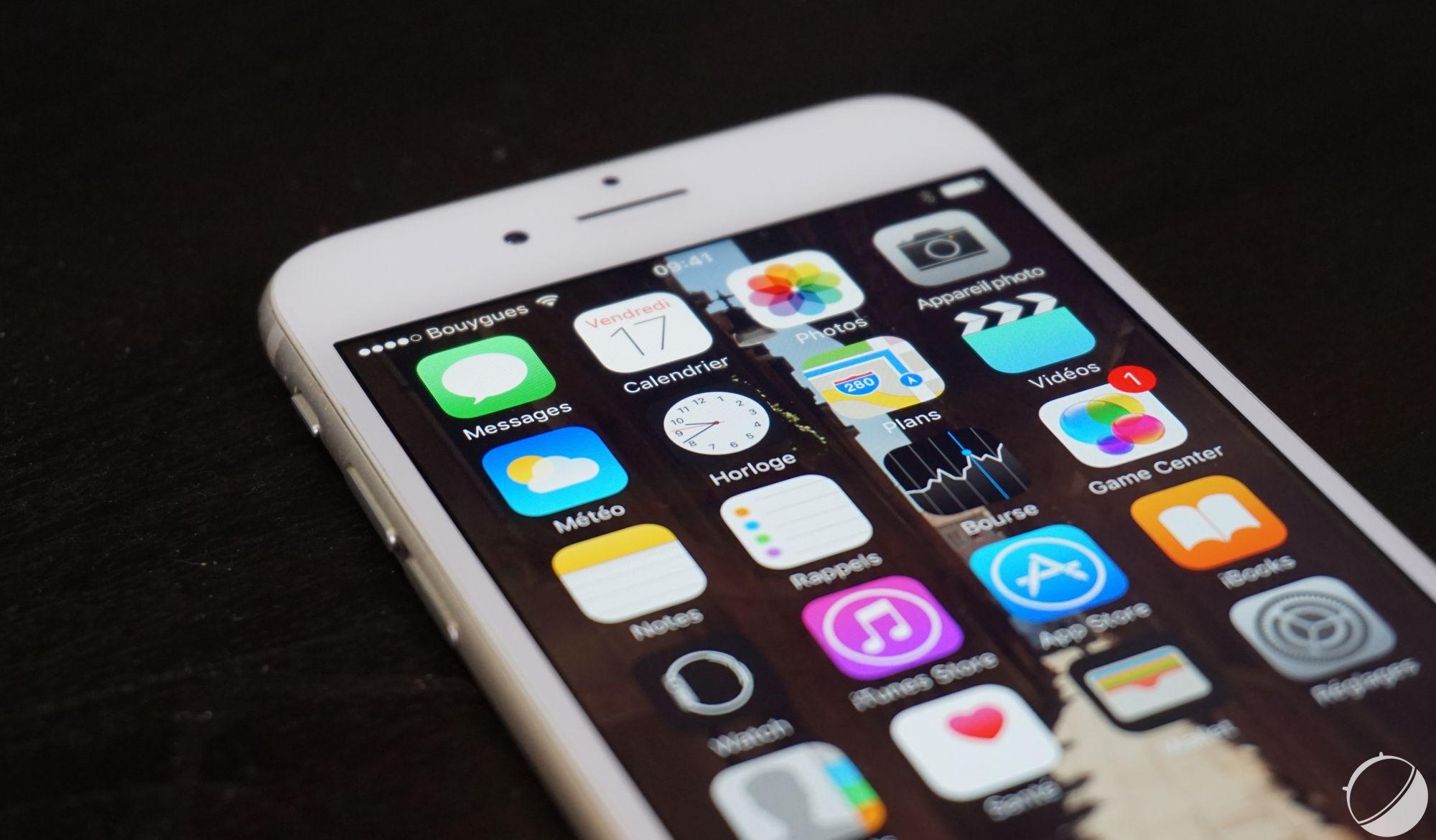 iphone 7 apple passerait enfin 32 et 256 go de m moire flash frandroid. Black Bedroom Furniture Sets. Home Design Ideas