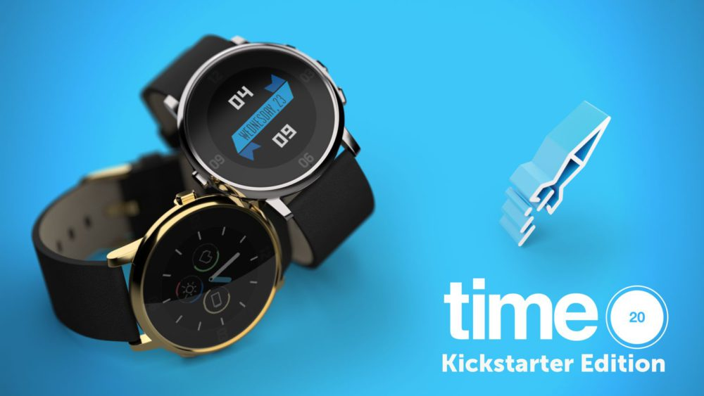pebble time round edition limitee