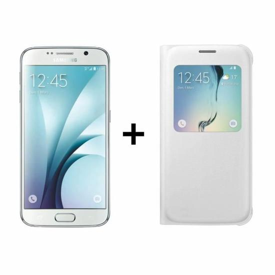 soldes le samsung galaxy s6 blanc une coque 338 euros frandroid. Black Bedroom Furniture Sets. Home Design Ideas
