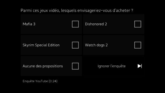 youtube enquête