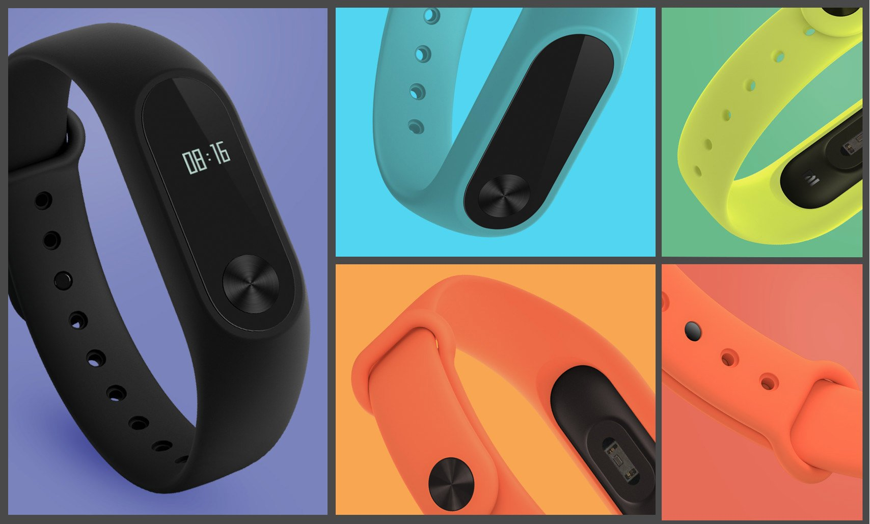 le xiaomi mi band 2 est l avec un cran oled et un. Black Bedroom Furniture Sets. Home Design Ideas