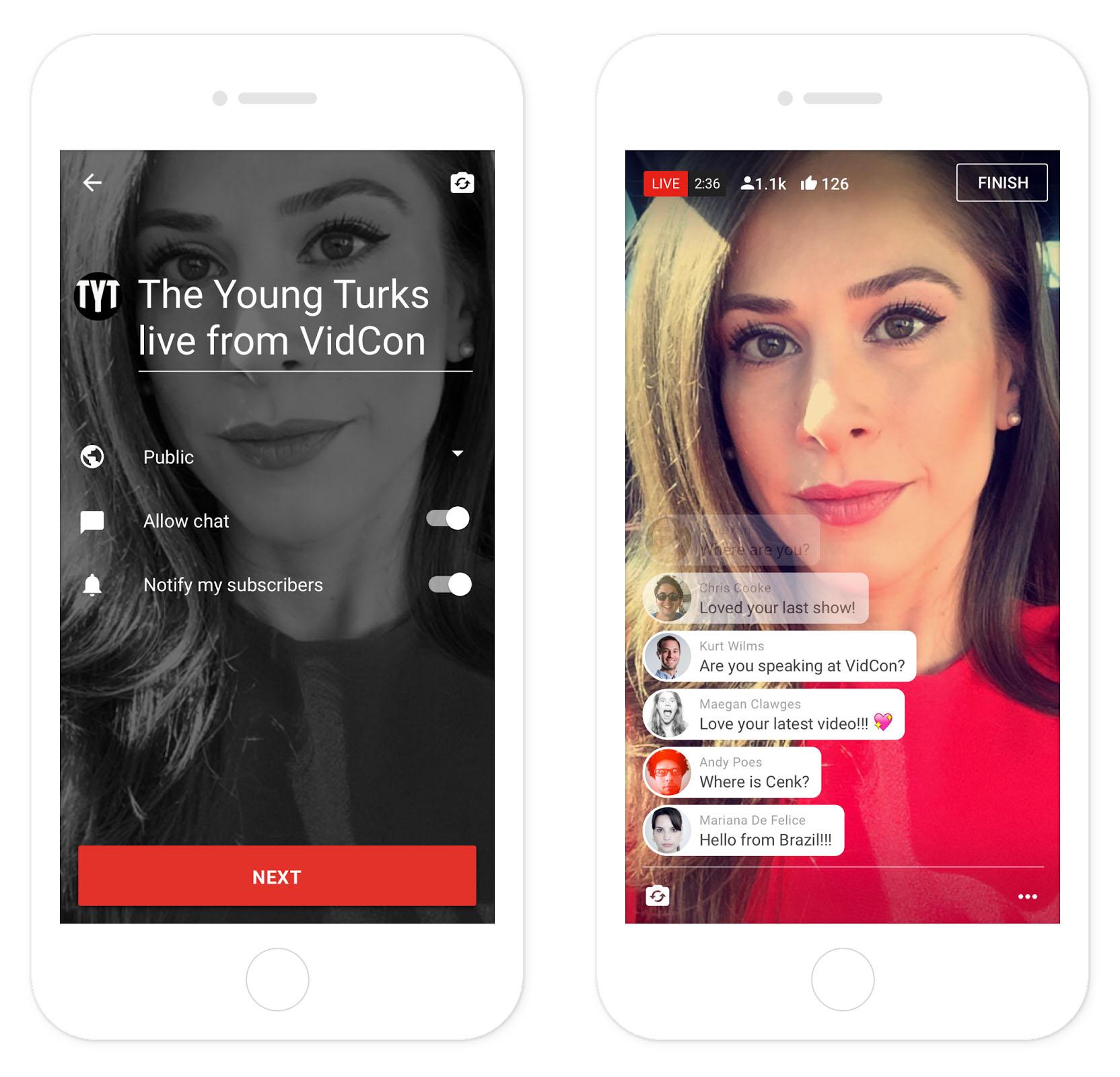 YouTube déploie la diffusion vidéo sur mobile