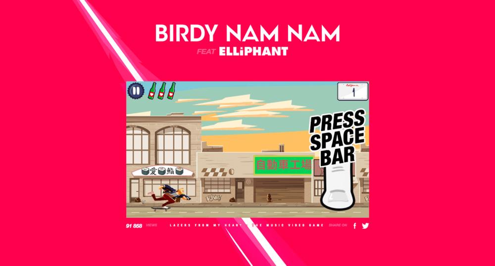 Birdy Nam Nam jeu vidéo
