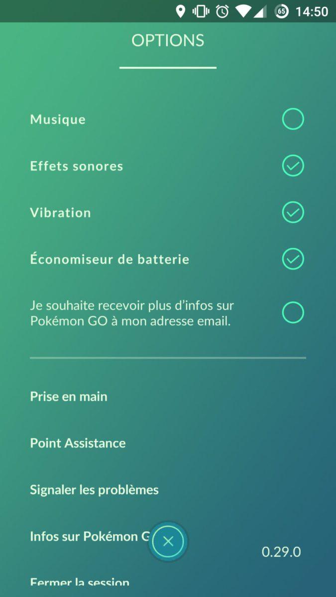 option eco ernergie pokemon go