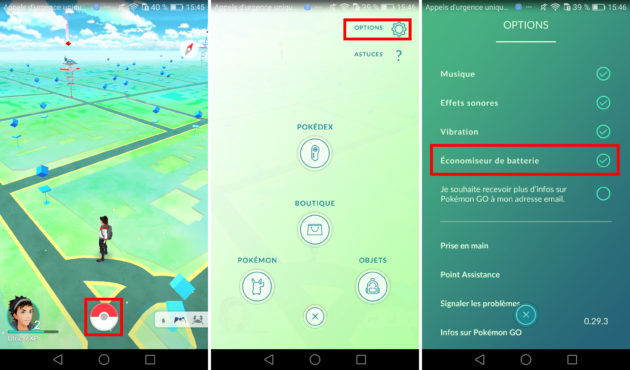 Pokémon go saver