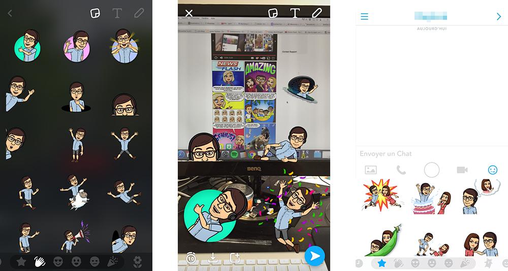 Snapchat Int 232 Gre Bitmoji Pour Envoyer Des Quot Friendmojis Quot 224 Ses Amis Frandroid