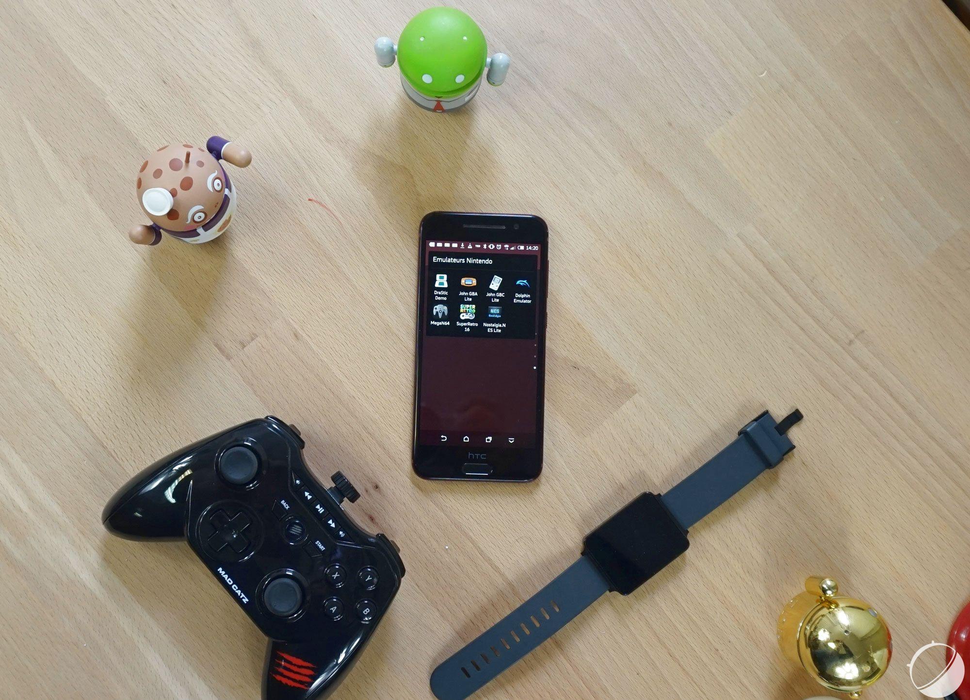 Comment muler les consoles de nintendo avec un appareil android frandroid - Console de salon android ...
