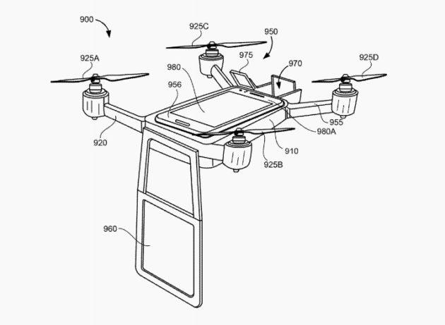 Google drone vidéo conférence