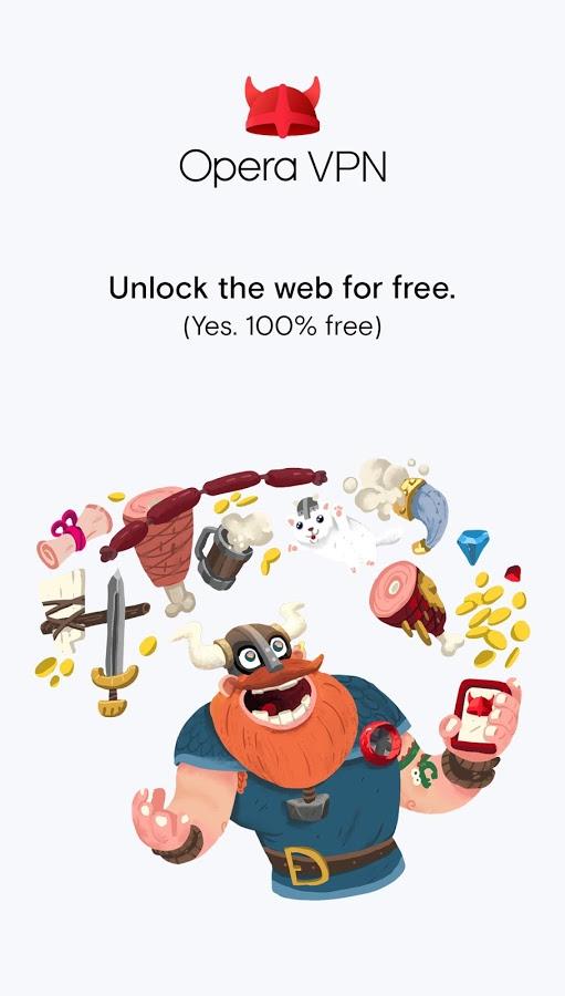 Opera propose un VPN gratuit et illimité sur Android