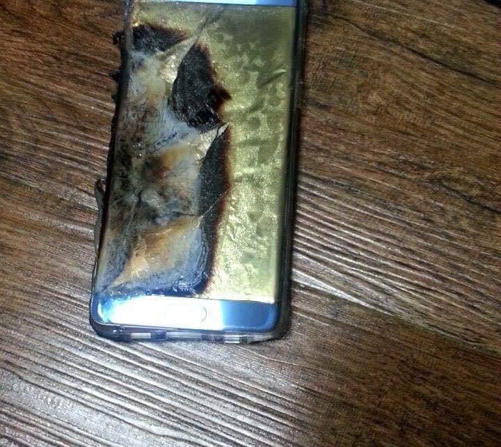 Samsung Galaxy Note 7 batterie problème