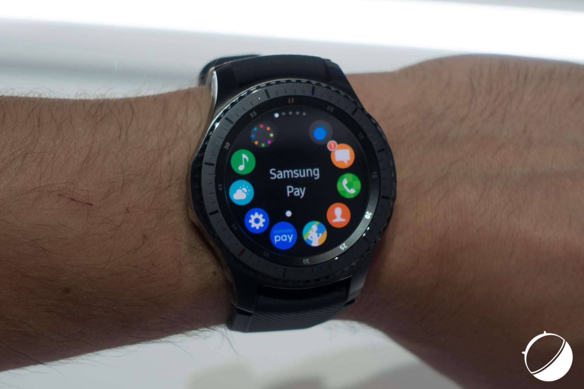 La Samsung Gear S3 est disponible en Corée et très bientôt en France