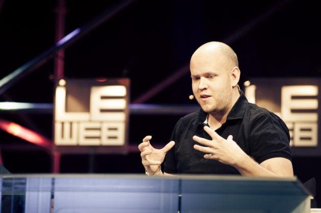 Daniel Ek, the founder of Spotify