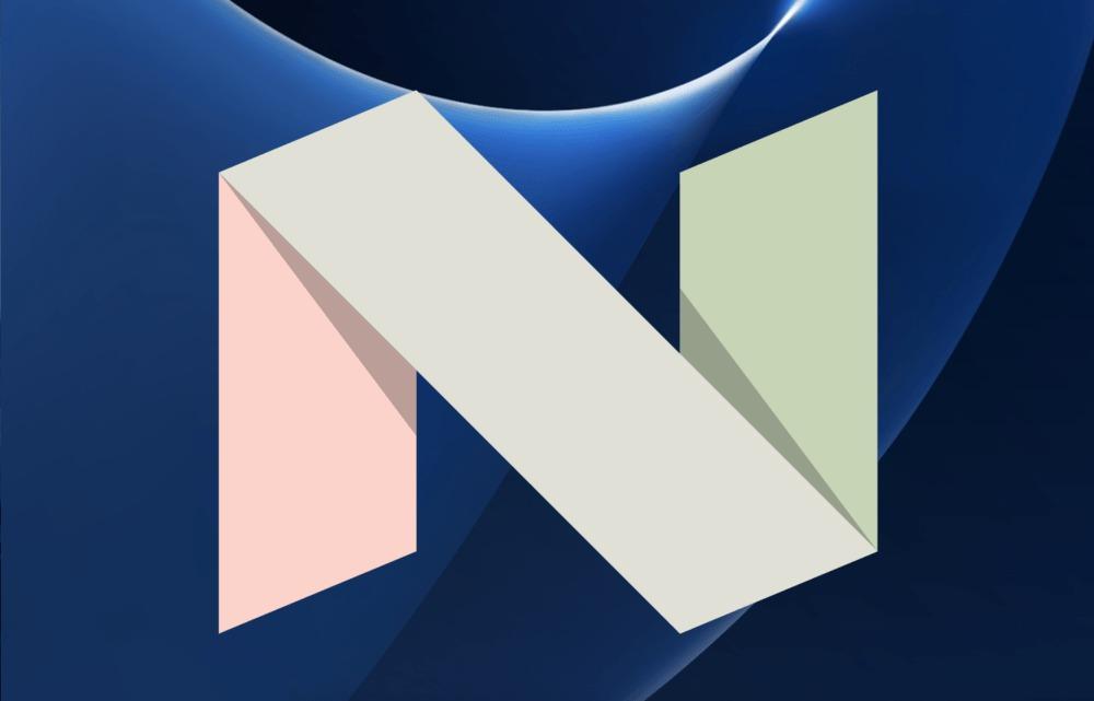 Android Nougat Samsung