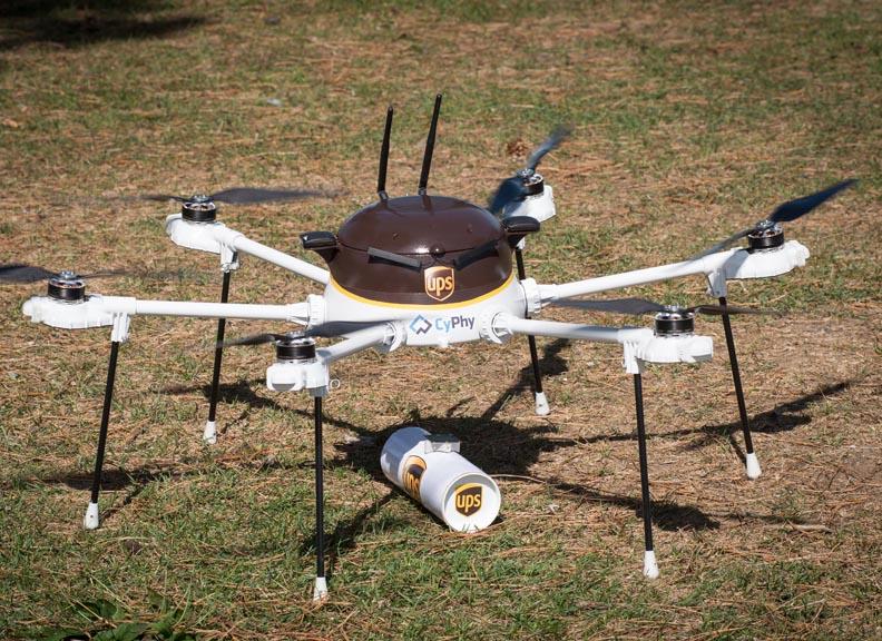 ups teste la livraison de m dicaments par drone actualit s du web forum titcrea. Black Bedroom Furniture Sets. Home Design Ideas