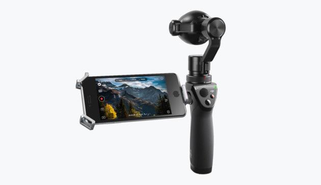 Le DJI Osmo Plus et sa caméra 4K