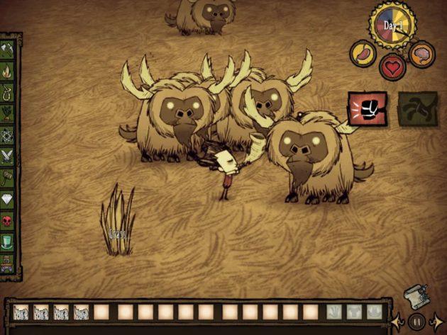 Les beefalos seront vos meilleurs amis