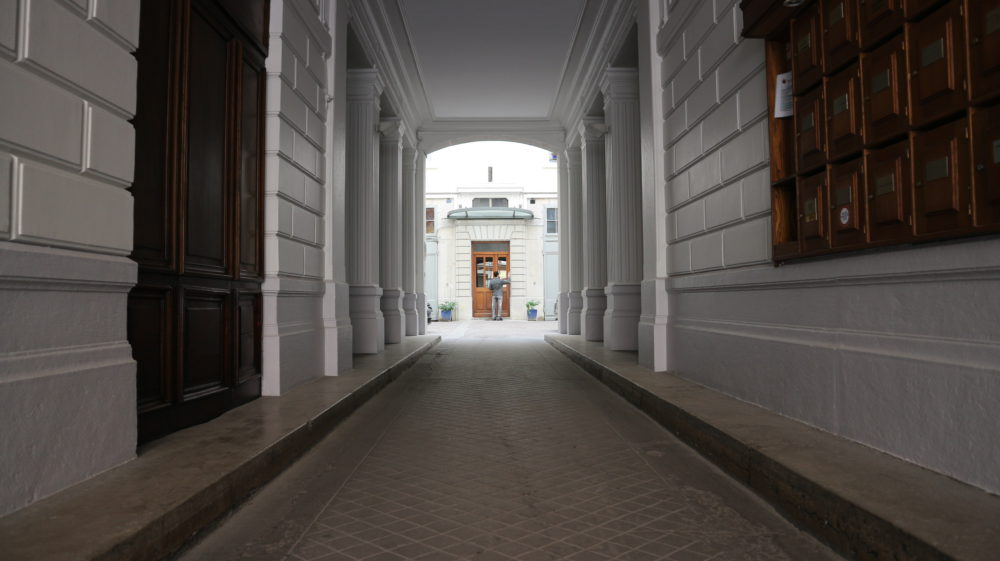 Entrée d'immeuble Canon