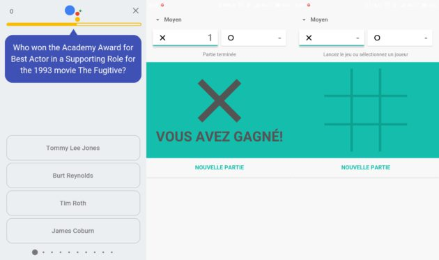 Google Duo jeu avec google assistant