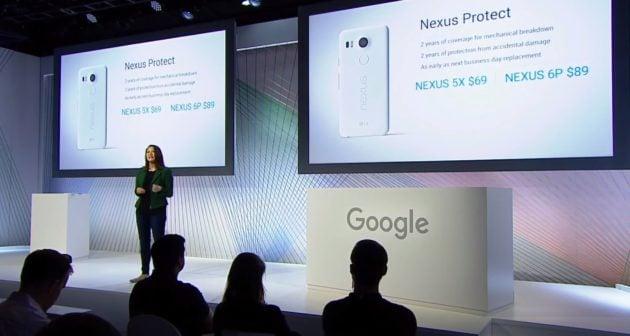 Google Nexus Protect septembre 2015
