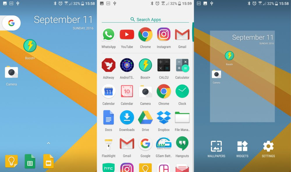 Google Pixel Launcher Android 7.1