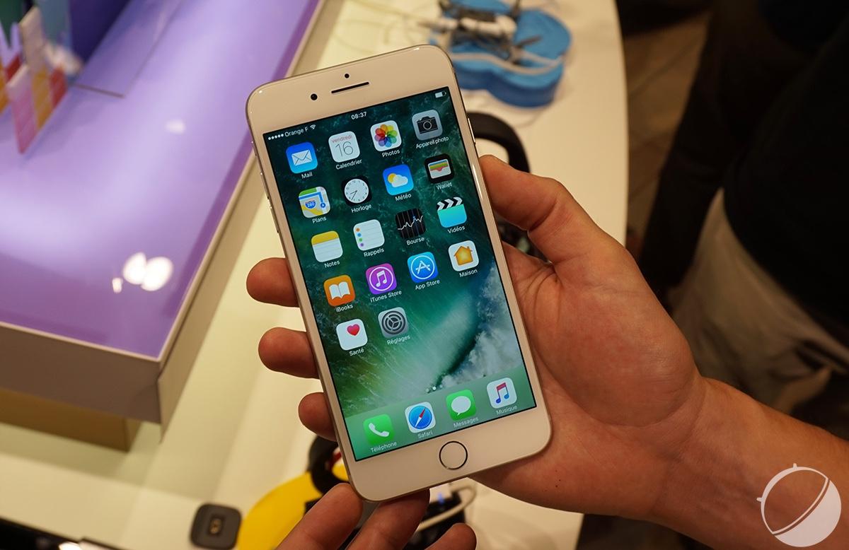 Iphone 8 et pixel 2 2017 sera une ann e d terminante for Photo ecran avec iphone 7