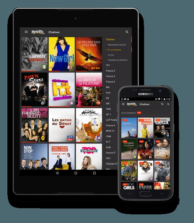 Molotov TV Android