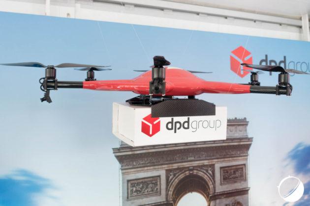 Le drone autonome de La Poste