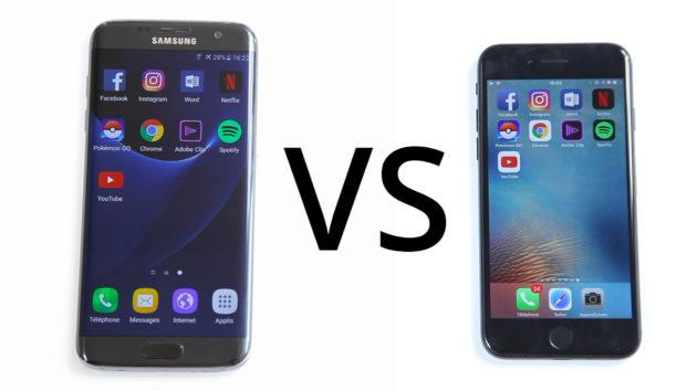 S7 vs Iphone V20