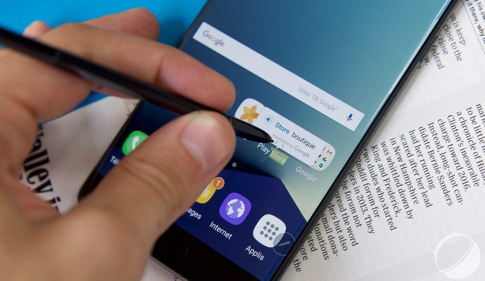 Samsung Galaxy Note 7 9