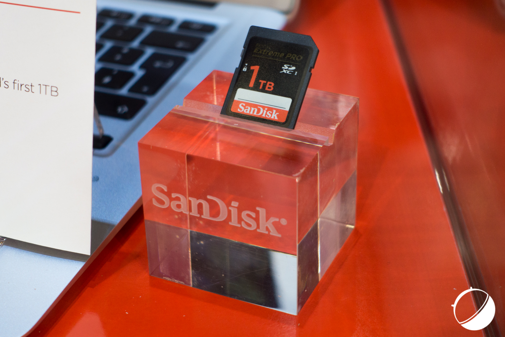 Bientôt une carte SDXC de 1 To — SanDisk