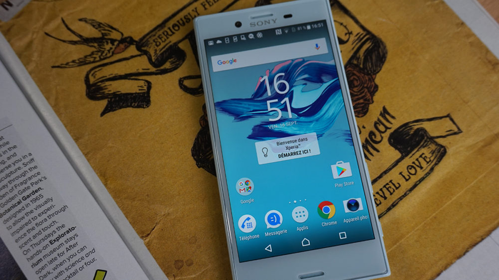 Sony Xperia X Compact 1