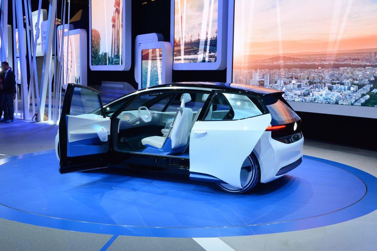 i d volkswagen pr sente son concept car 100 lectrique et autonome frandroid. Black Bedroom Furniture Sets. Home Design Ideas