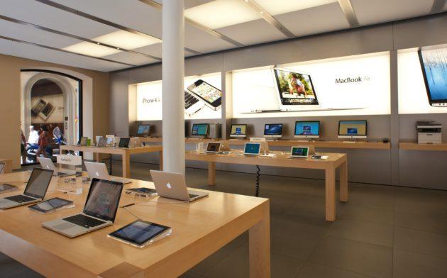 Un Apple Store en Italie