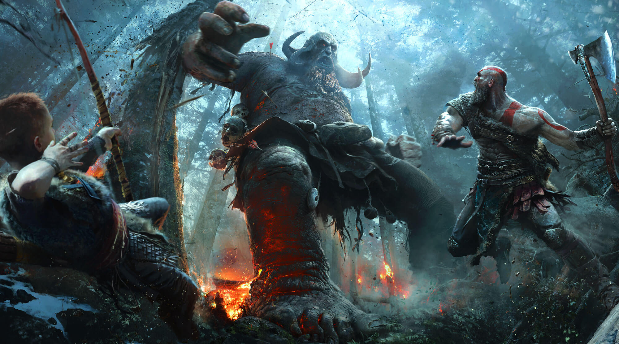 God of War, exclusivement sur PlayStation 4