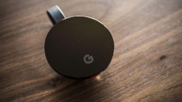 La clé Chromecast Ultra de Google pour diffuser du contenu sur votre TV