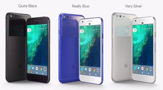 google-pixel-couleurs