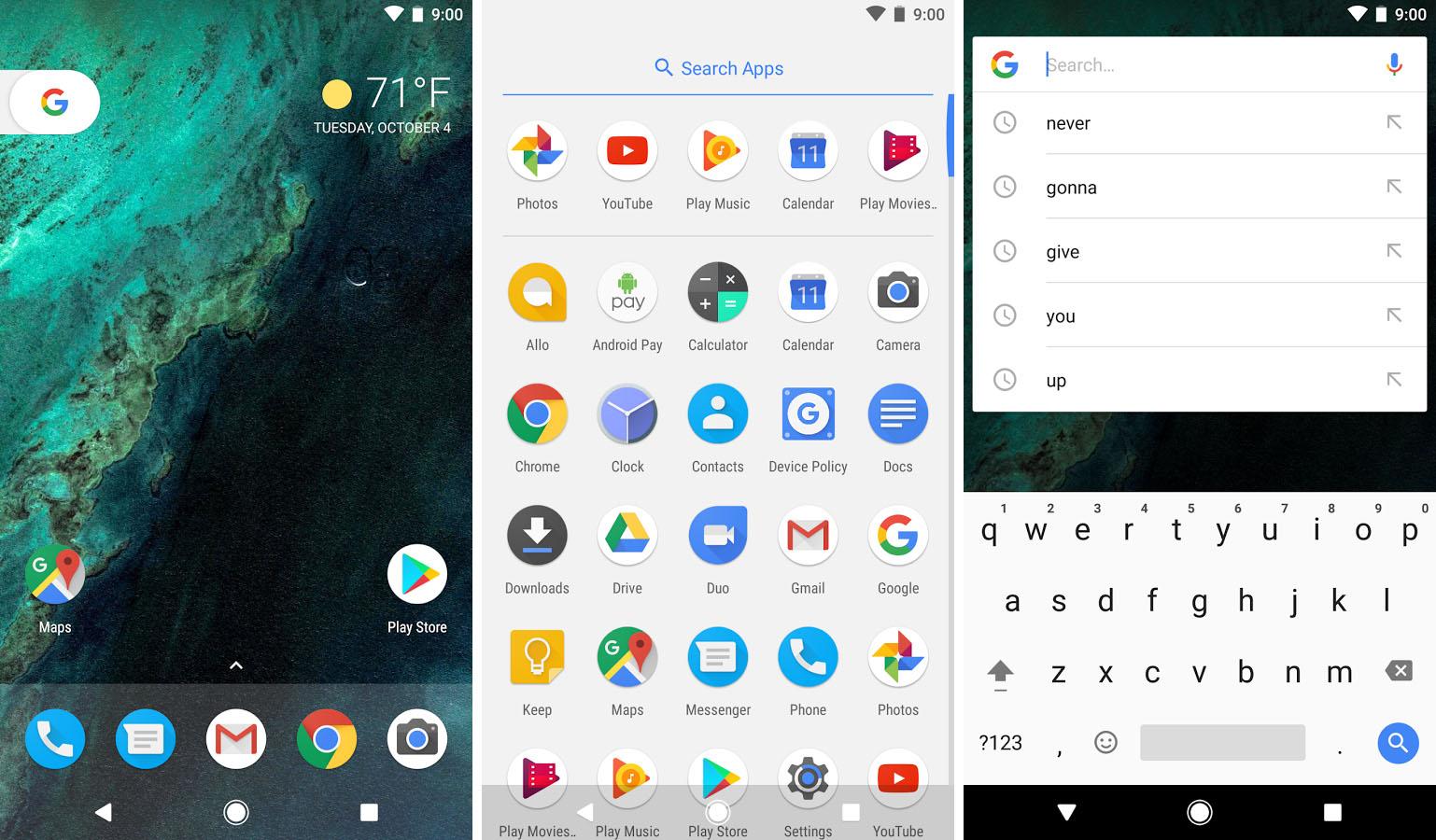 Google Pixel Launcher L Interface Des Pixel Disponible