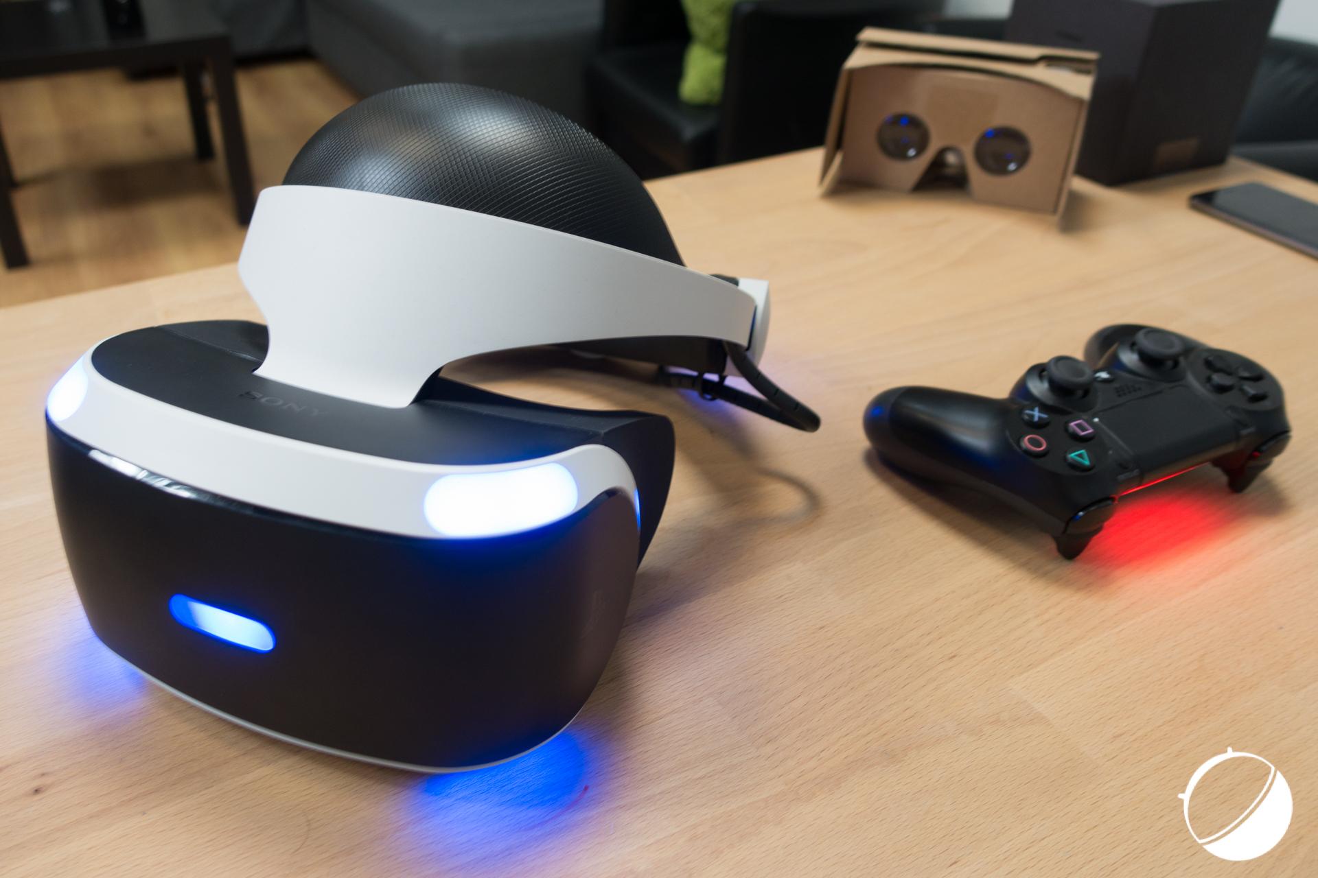 Le premier PlayStation VR