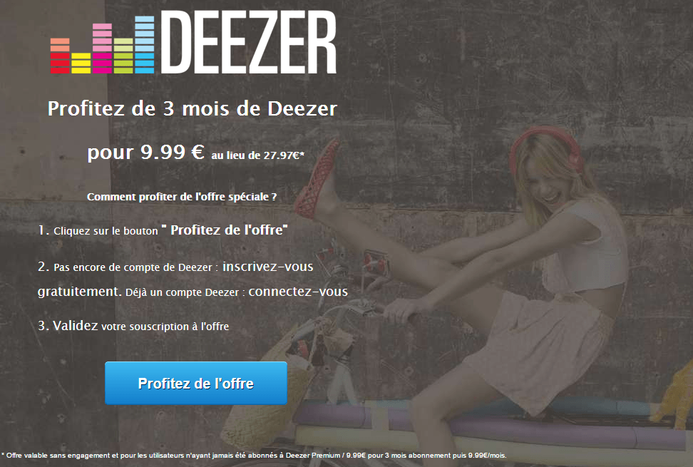 spotify deezer apple music et play musique comment b n ficier des meilleures offres. Black Bedroom Furniture Sets. Home Design Ideas