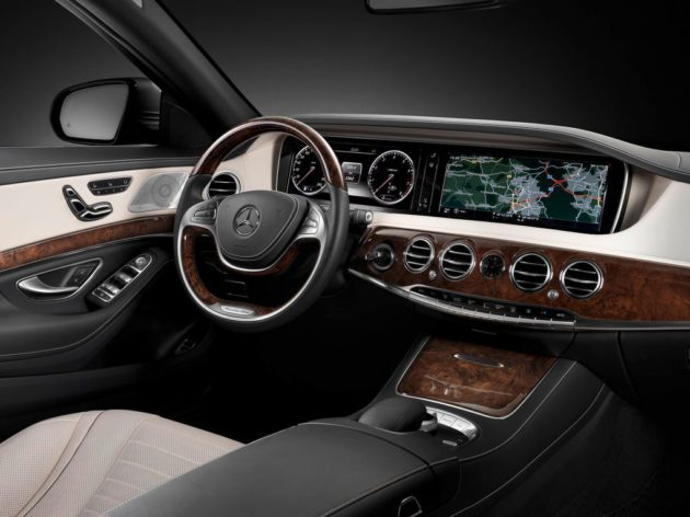 Le Advanced infotainment system d'Harman (Mercedes S Class)