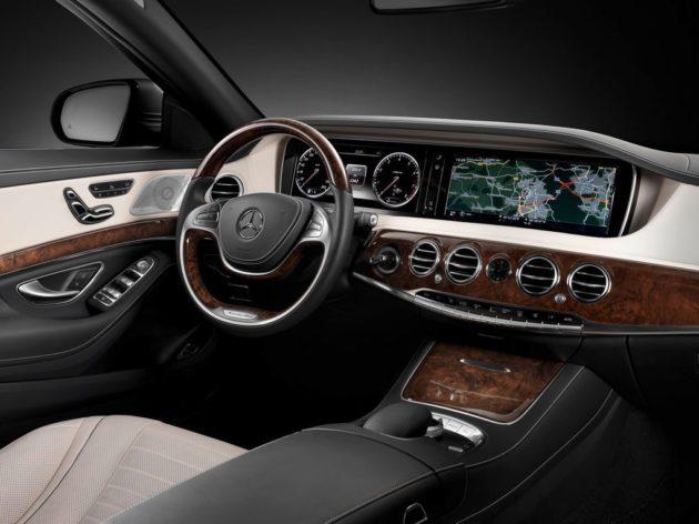 Le Advanced infotainment system d'Harman (Mercedes S Class)